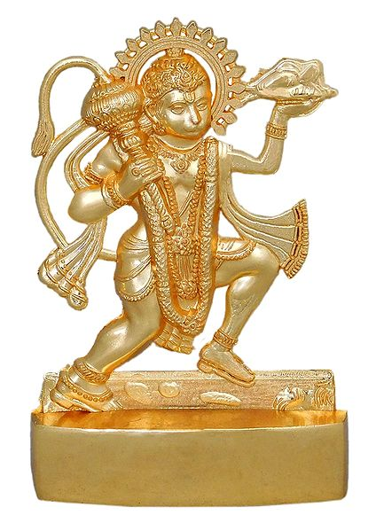 Metal Hanuman for Car Dashboard