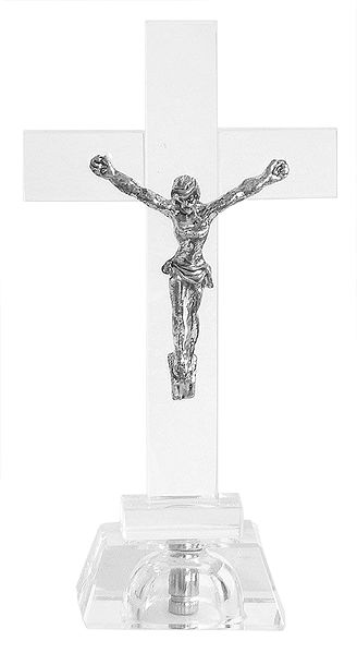 Jesus Christ - Battery Operated Crucifix with Changing Light