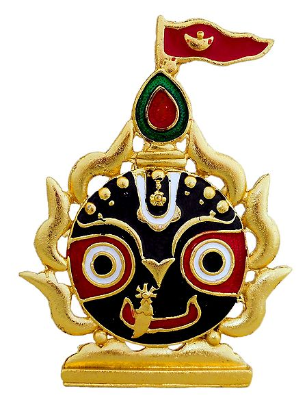 Face of Jagannathdev - For Car Dashboard