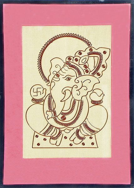 Lord Ganesha - Wall Hanging