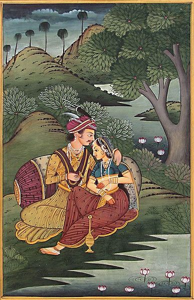 Prince Entwined by Courtesan's Beauty