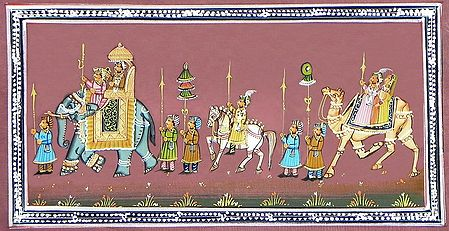 Procession of Rajput Nobles