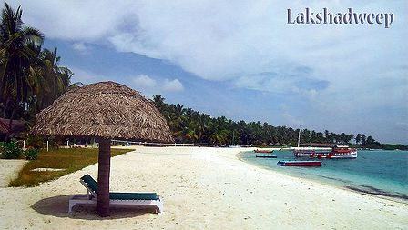 Sea Coast at Bangaram Island, Lakshadweep, India
