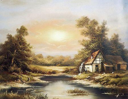 Hut Near Forest