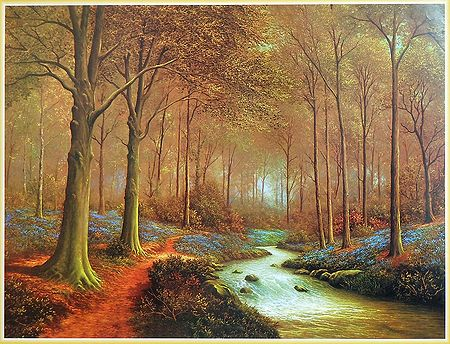 A Dancing Stream in the Forest
