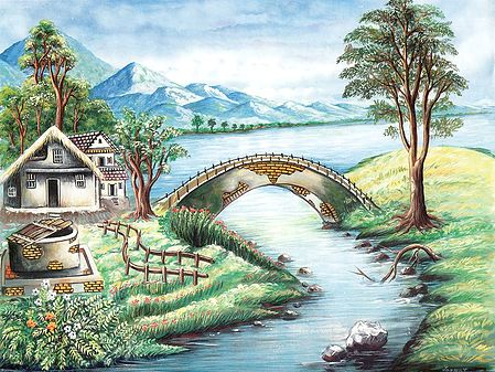 Bridge Between Nature and Mankind