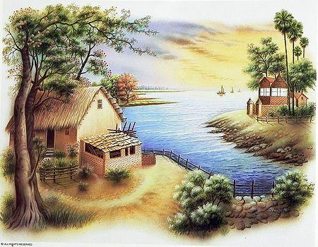 Riverside Huts