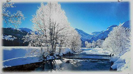 Lauibach Creek in Lauenen - Switzerland - Photo by U.Bangerter