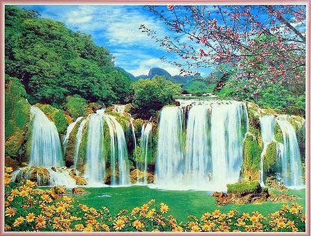 Majestic Waterfall