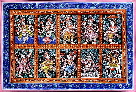 Dashavatara - 10 Incarnations of Lord Vishnu