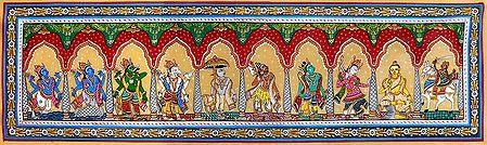 Dashavatara - 10 Incarnations of Lord Vishnu