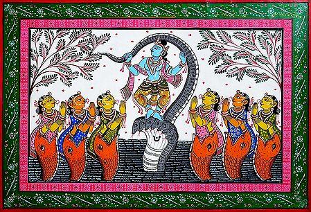 Kaliya Daman By Krishna