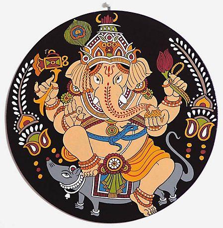 Lord Ganesha - (Wall Hanging)