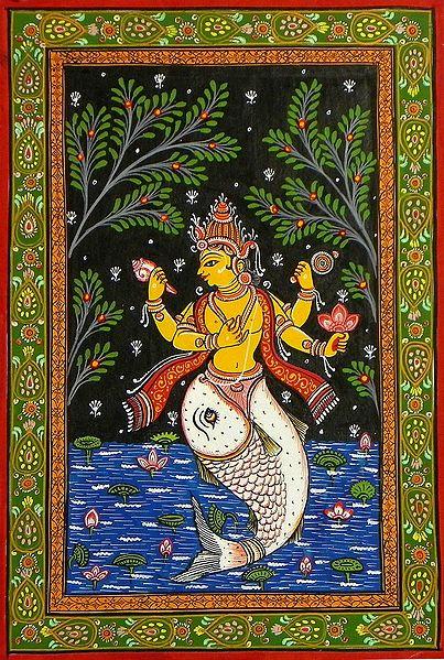 Matsya Avatar - First Incarnation of Lord Vishnu