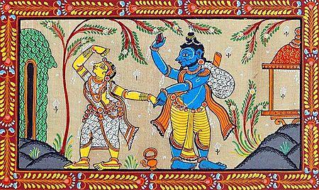 Abduction of Sita By Ravana
