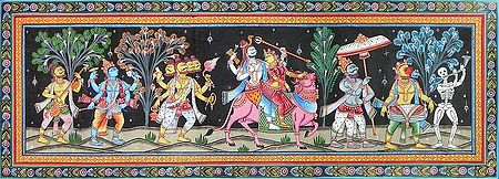 Marriage Procession of Lord Shiva and Parvati