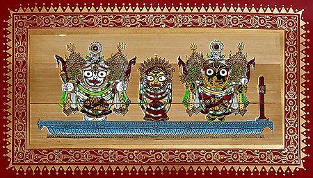 Jagannath, Subhadra, Balaram
