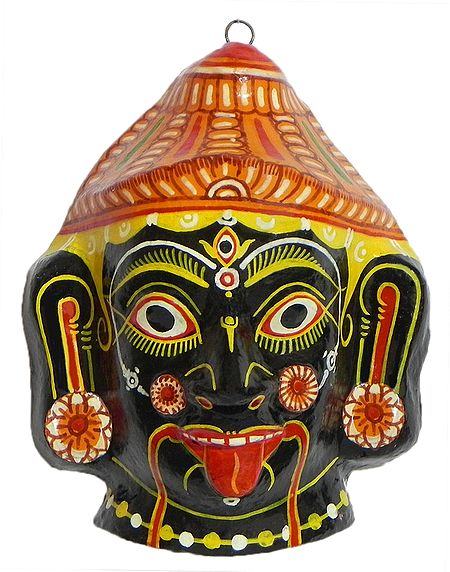 Goddess Kali Mask - Wall Hanging