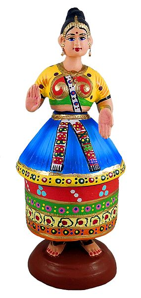 Manipuri Dancing Doll
