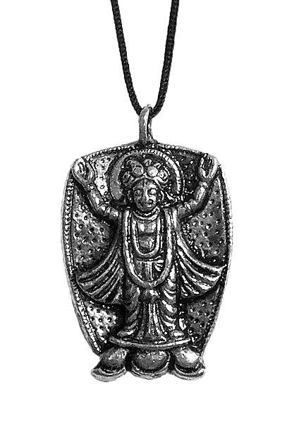 Chaitanyadev Pendant with Black Cord