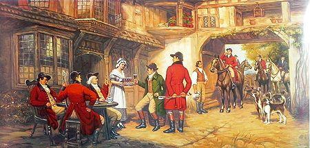 Medieval British Country inn