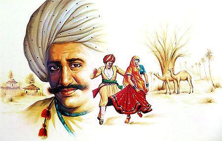 Rajasthani Couple