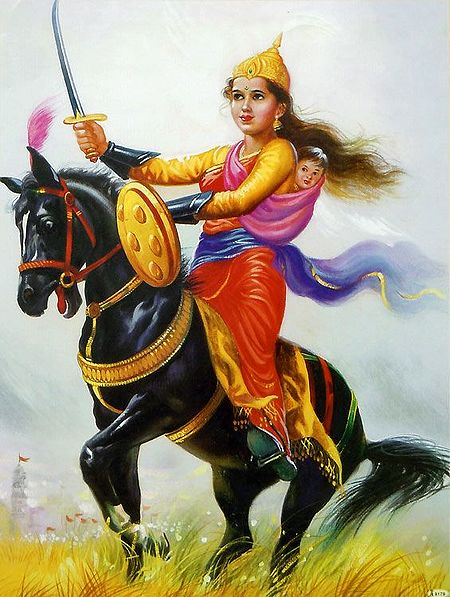 Rani Lakshmibai - The Fiery Queen of Jhansi from 1854-1858
