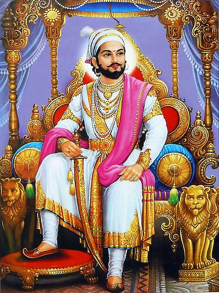 King Shivaji - Reign from 1642-1680