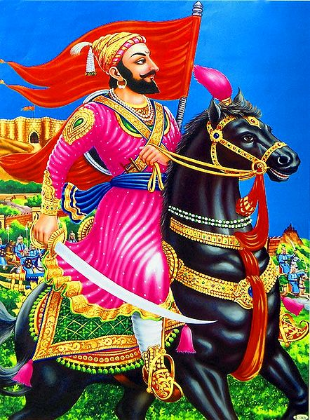 King Shivaji - Reign from 1642-1680