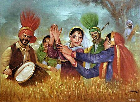 Vaisakhi Festival of Punjab