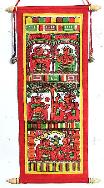 Rajasthani Phad Painting