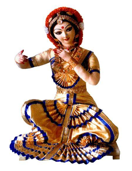 Bharatnatyam Dancer - Unframed Photo Print on Paper