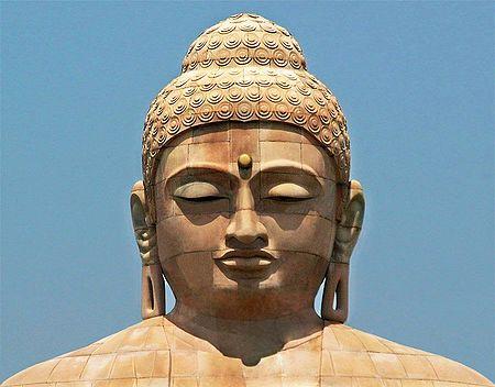 Face of Buddha, Bodhgaya - Bihar, India