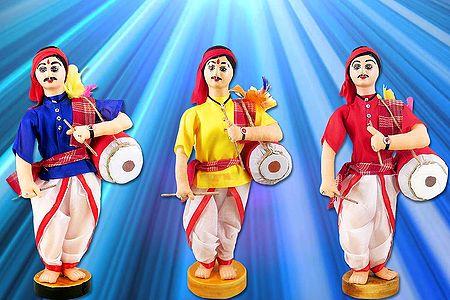 Dhaki Photo - Unframed Photo Print on Paper