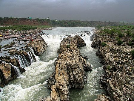 Dhuandhar Waterfalls - Jabalpur, Madhya Pradesh, India
