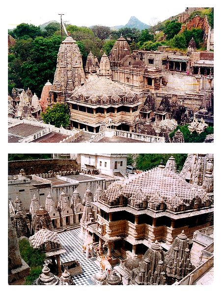 Dilwara Temple, Rajasthan, India - Set of 2 Photo Prints