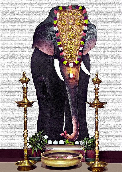 Decorated Mysore Elephant