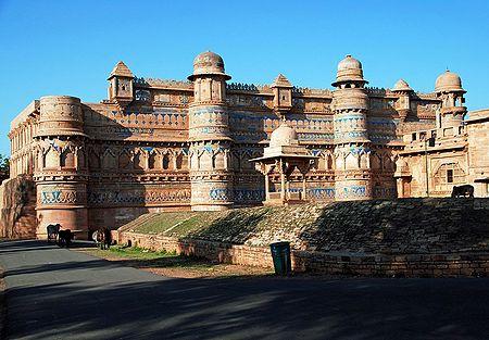 Gwalior Fort - Madhya Pradesh, India
