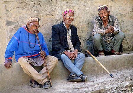 3 Wise Men from Keylong -  Himachal Pradesh, India