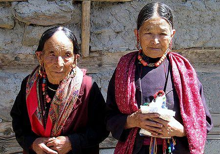 Wizened Beauties from Keylong -  Himachal Pradesh, India