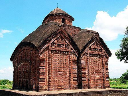 Vishnupur Terracotta Temple - Bankura, West Bengal, India