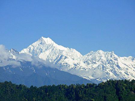 Kangchenjunga from Ganesh Tok, Gangtok - East Sikkim, India