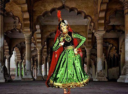 Kathak Dancer Photo - Unframed Photo Print on Paper