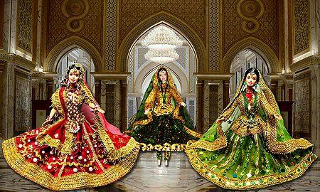 Kathak Dancers - Unframed Photo Print on Paper