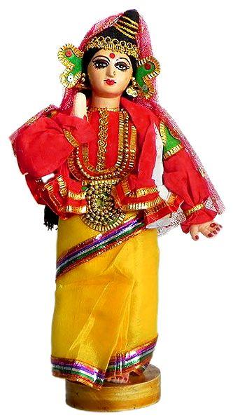 Photo Print of Kathakali Dancer