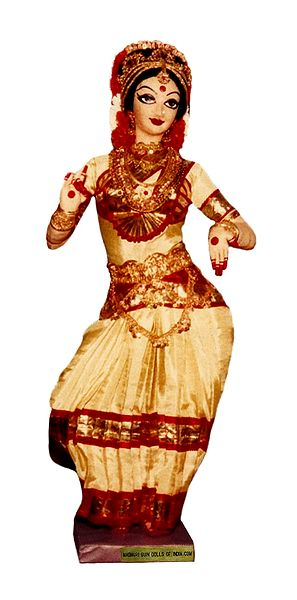 Kuchipudi Dancer - Unframed Photo Print on Paper