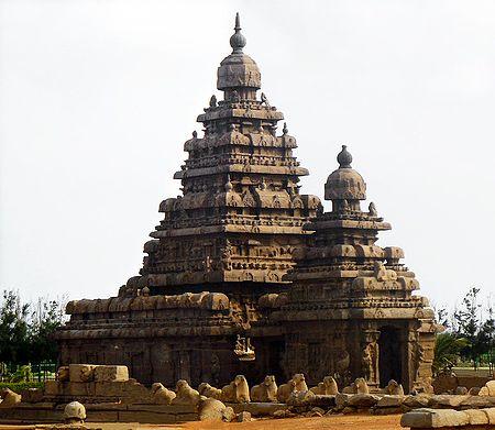 Seashore Temple, Mahabalipuram - Tamil Nadu, India