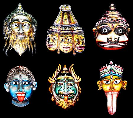 Deity Masks of India
