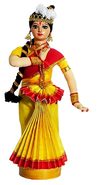 Mohini Attam Dancer Doll
