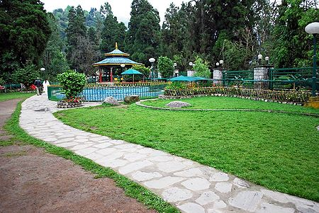 Namgyal Memorial Park, Gangtok - East Sikkim, India